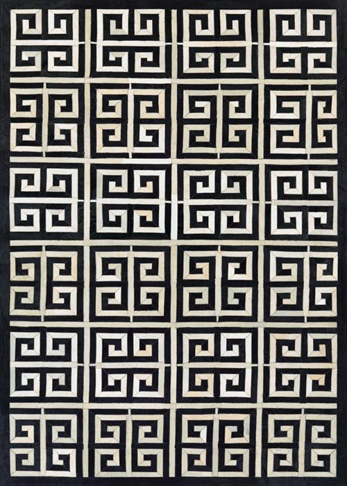Chalet - Meander - Black/Ivory