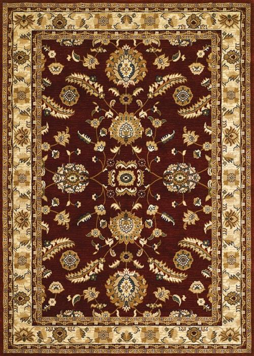 Anatolia - Floral Heriz - Red/Cream