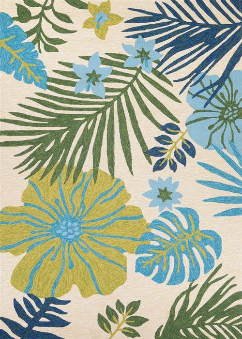 Covington - Summer Laelia - Ivory/Fern