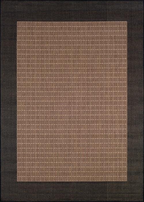 Recife - Checkered Field - Cocoa/Black