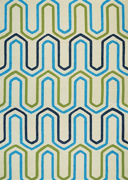 Covington - High Tide - Ivory/Multi