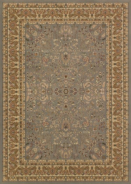Izmir - Floral Mashhad - Grey