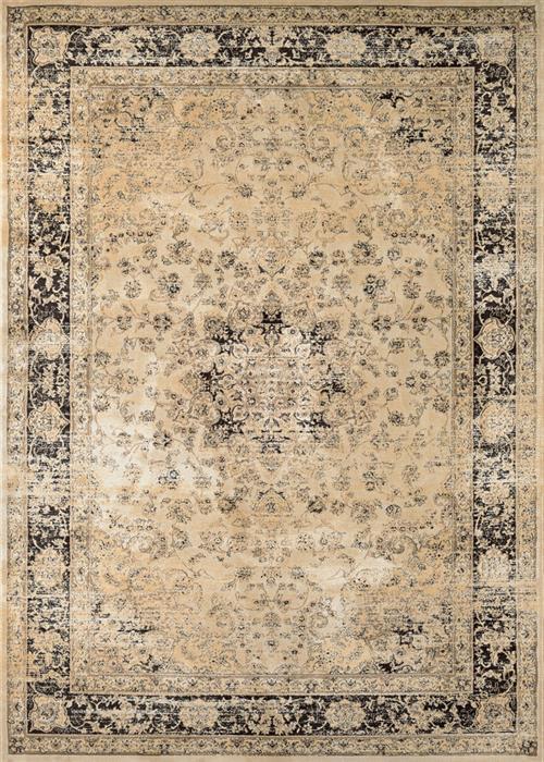 Zahara - Persian Vase - Oatmeal/Black