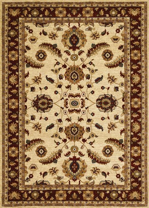 Anatolia - Floral Heriz - Cream/Red