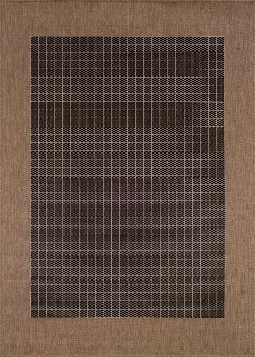 Recife - Checkered Field - Black/Cocoa