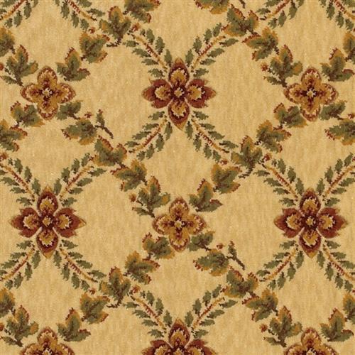 Swatch for Woodland Trellis   Linen Beige flooring product