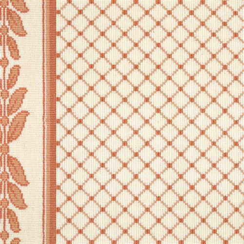 Legacy in Ardmore  Apricot On White - Carpet by Couristan