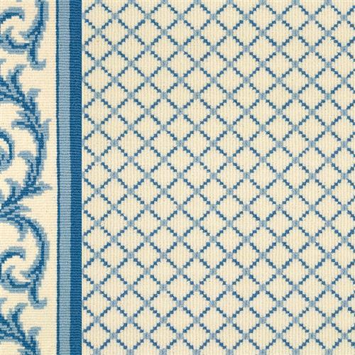 Legacy in Ardmore  Dresden Blue On White - Carpet by Couristan