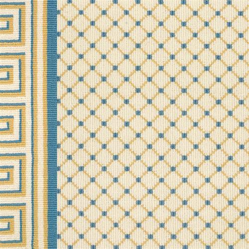 Legacy in Ardmore   Yellow Blue On White - Carpet by Couristan