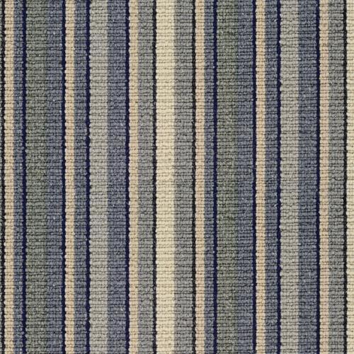 Weston Stripe Cornflower Blue