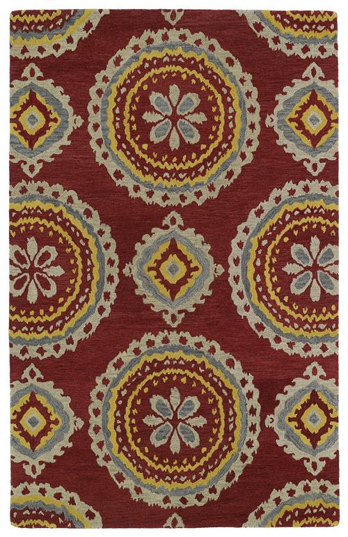 Global Inspirations Collection-GLB09-25-Red