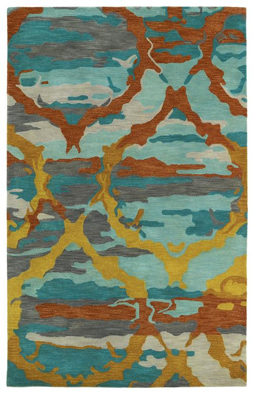 Brushstrokes Collection-BRS02-91-Teal