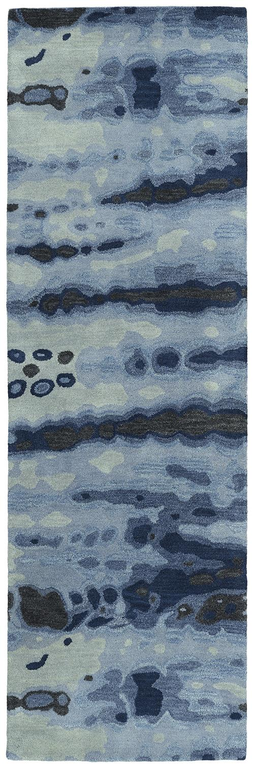 Brushstrokes Collection-BRS03-17-Blue