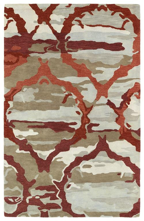 Brushstrokes Collection-BRS02-25-Red
