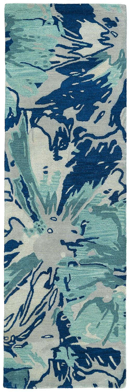 Brushstrokes Collection-BRS06-17-Blue