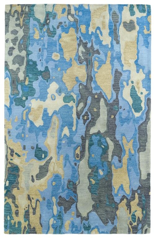 Brushstrokes Collection-BRS05-17-Blue