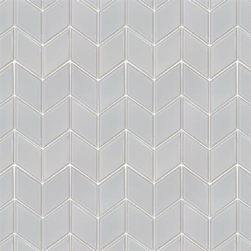 Studio - Nouveau Bianco Glossy - Chevron