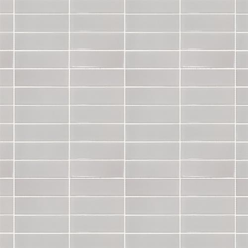 Studio - Nouveau Bianco Glossy - Stacked Mosaic