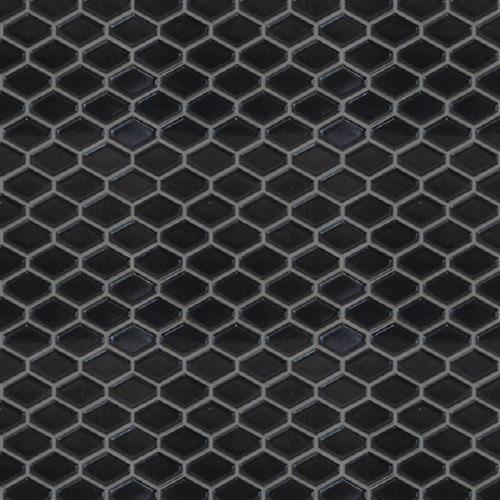 Studio - Nouveau Charcoal Glossy - Hexagon