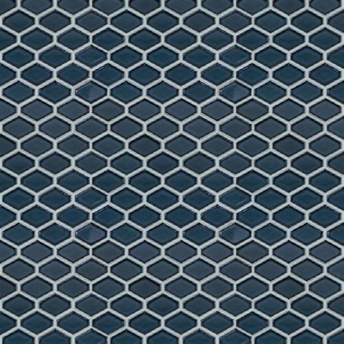 Studio - Nouveau Navy Glossy - Hexagon