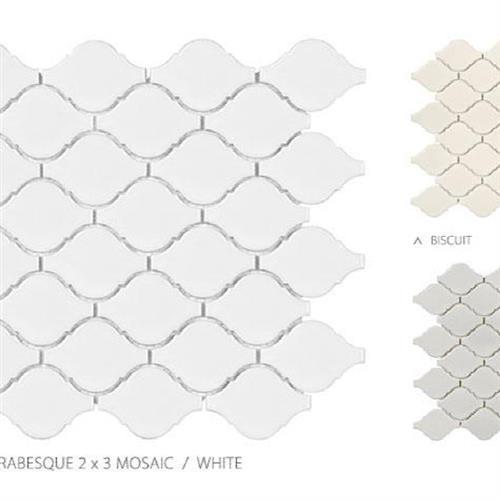 Seville Series - Contempo Avant Garde White - Arabesque