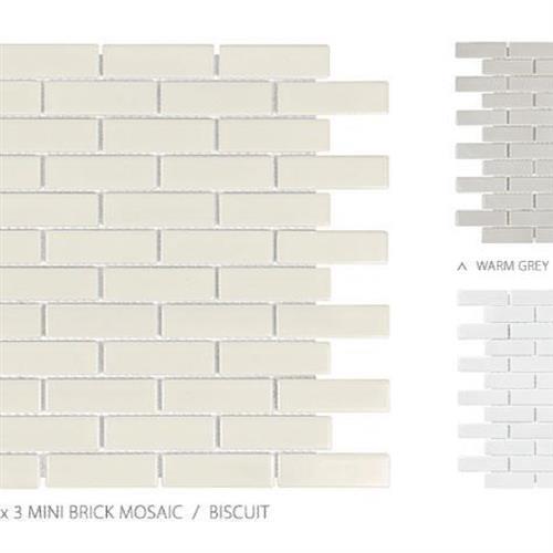 Seville Series - Contempo Avant Garde White - Mini Brick