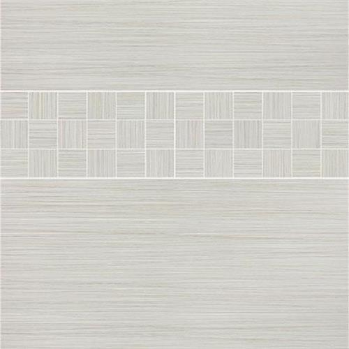 Venetian Architectural  Grasscloth II in Cashmere  4x24 - Tile by Surface Art