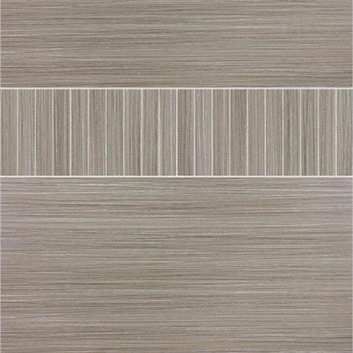Venetian Architectural  Grasscloth II in Smoke  4x24 - Tile by Surface Art