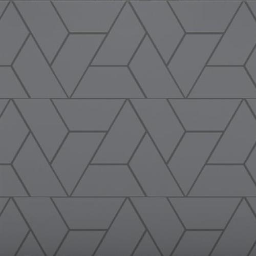 Venetian Architectural  A La Mode Geo Cuts Honed in Black  Trapezoid - Tile by Surface Art