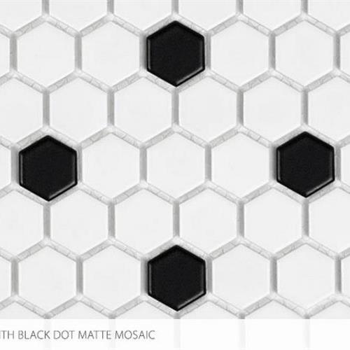ProductVariant swatch small for 1 X 1 Hex With Black flooring product