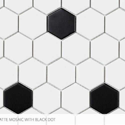 Seville - Contempo Heritage 2 X 2 Hex With Black