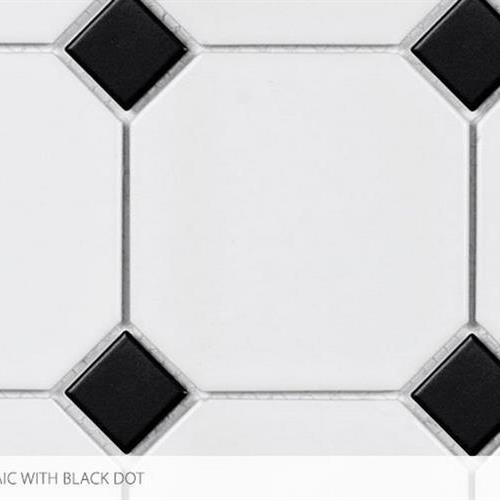 Swatch for 4 X 4 With Black Dot flooring product