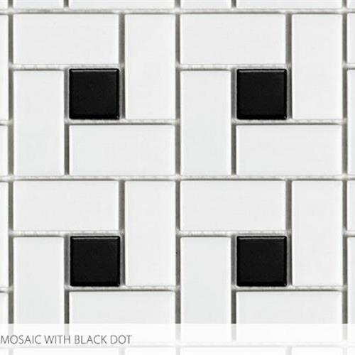 Swatch for Pinwheel With Black Dot flooring product