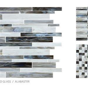 GlassTile AntiqueStainedGlassMix ANT-AlabasterBlend AlabasterBlend