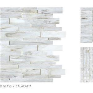 GlassTile AntiqueStainedGlassMix ANT-CalacattaBlend CalacattaBlend