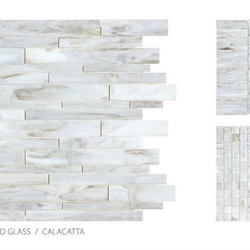 Antique Stained Glass Mix Calacatta Blend