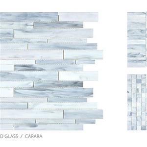 GlassTile AntiqueStainedGlassMix ANT-CararaBlend CararaBlend