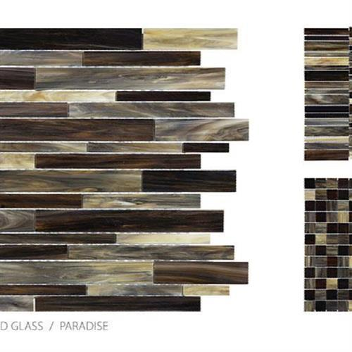 Antique Stained Glass Mix Paradise Blend - Random Stacked