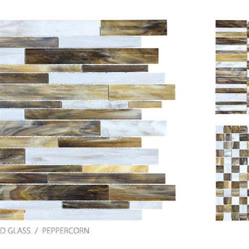 Antique Stained Glass Mix Peppercorn Blend - Random Stacked