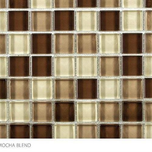 Clear Glass Blends Mocha Blend