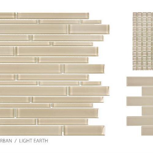 Translucent Urban Glass Light Earth