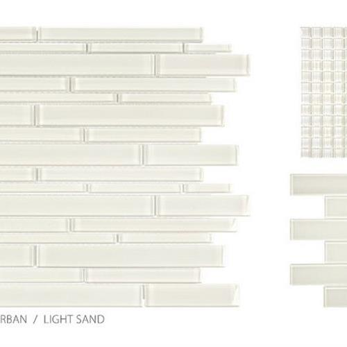 Translucent Urban Glass Light Sand