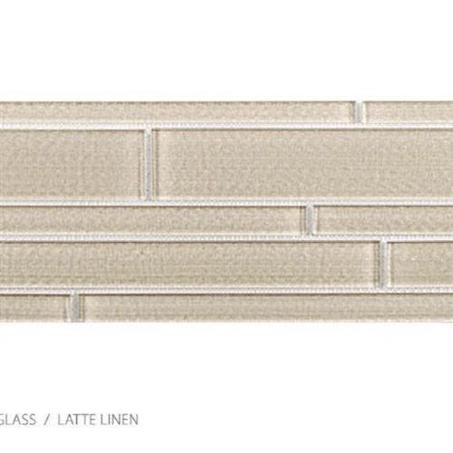 Translucent Linen Latte Linen - Random Strip