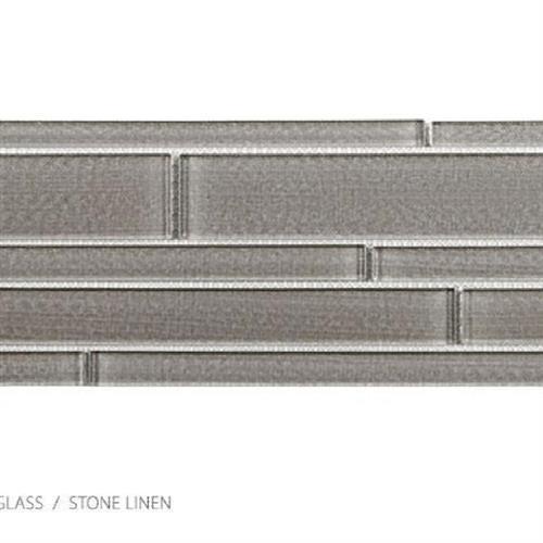 Translucent Linen Stone Linen - Random Strip