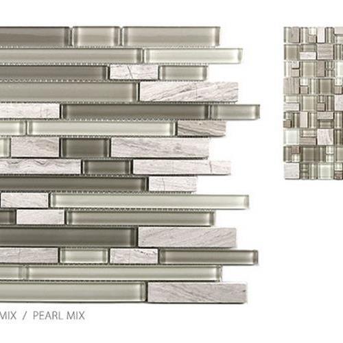 Stone  Glass Mixes Pearl Mix