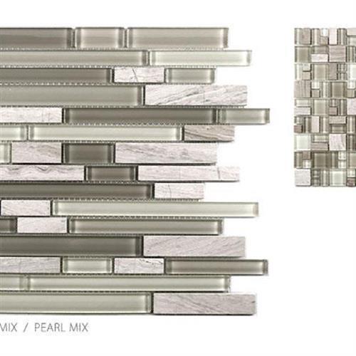 Stone  Glass Mixes Pearl Mix - Mini Random