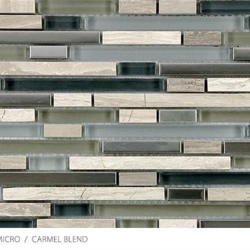 Stone Glass  Metal Micro Carmel Blend