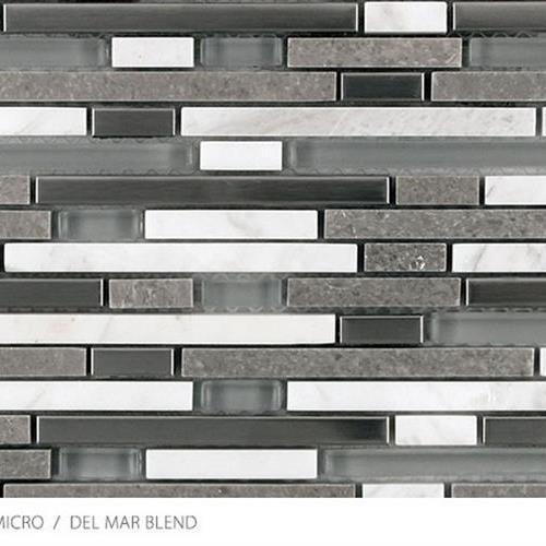 Stone Glass  Metal Micro Del Mar Blend