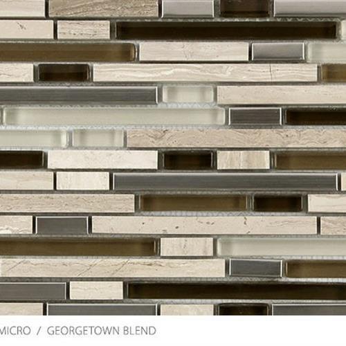 Stone Glass  Metal Micro Georgetown Blend