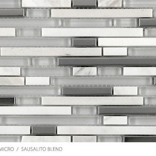 Stone Glass  Metal Micro Sausalito Blend